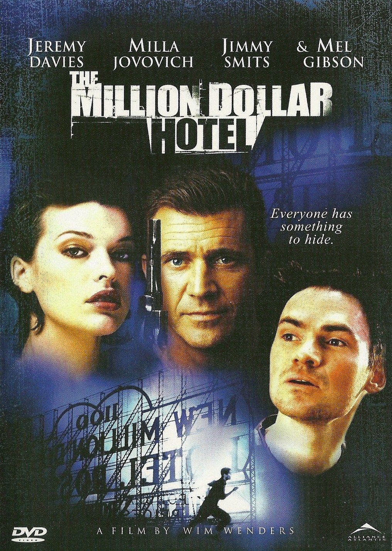 The Million Dollar Hotel Dvd Mel Gibson Jimmy Smits Jeremy Davies Milla Jovovich Jeremy Davis Milla Jovovich Mel Gibson