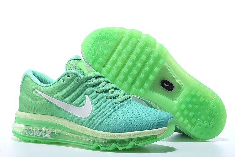 online store 88817 dde23 Men s Nike Air Max 2017 Shoes Green Mint White