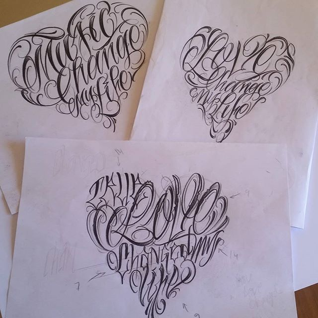 100 Tattoo Lettering Designs For Your Body Art: Cool Street Lettering