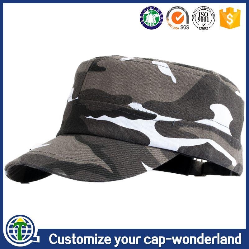Flat top style officer bancroft blank wholesale military hats names camo  caps hat e80a975edde
