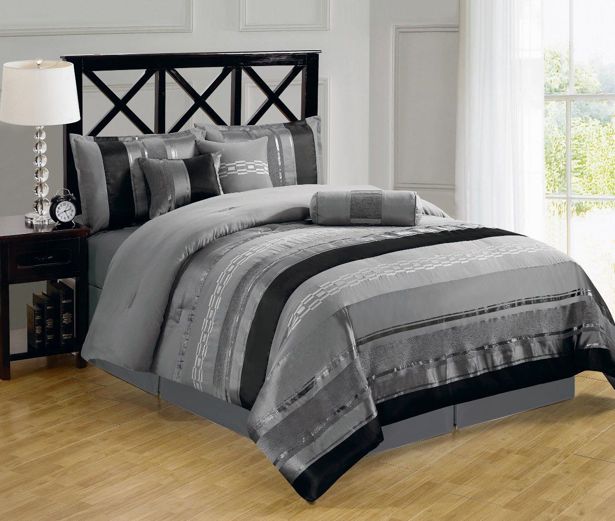 Pink And Gray Bedding Sets King Bone Collector