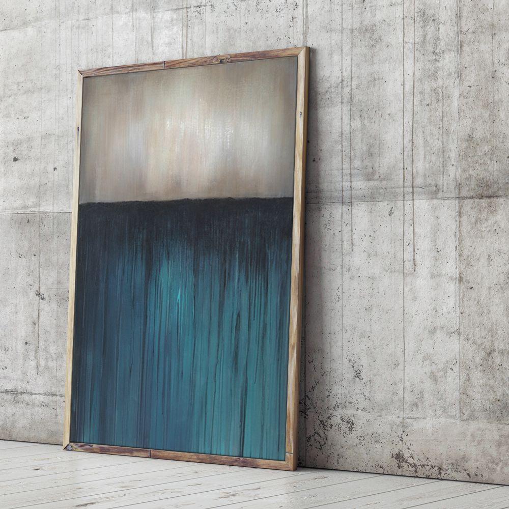Abstrakte Kunst Von Bernd Eppler. Acryl Auf Leinwand (120 X 80 X 4 Cm).  Wandbild Online Erhältlich. Auf Wunsch Kann Zu Dem Acrylgemälde Ein  Passender ...