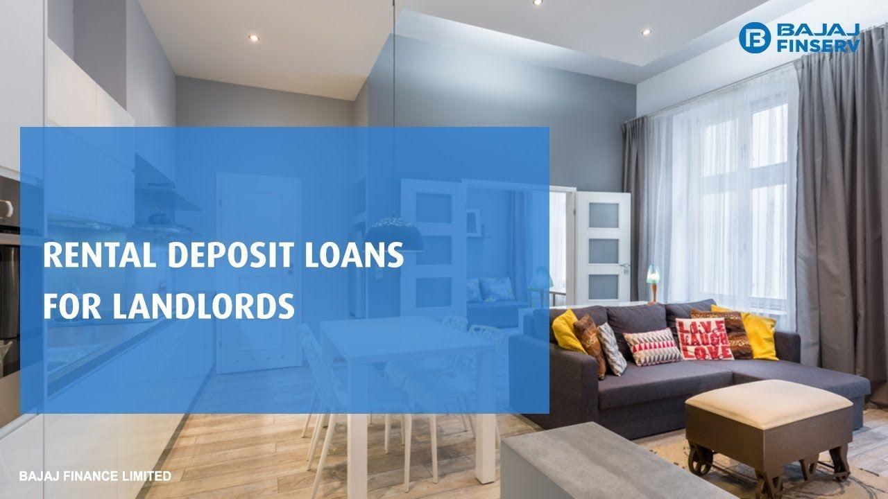 Rental Deposit Loans For Landlords I Bajaj Finserv Renting Out Your House Being A Landlord Loan