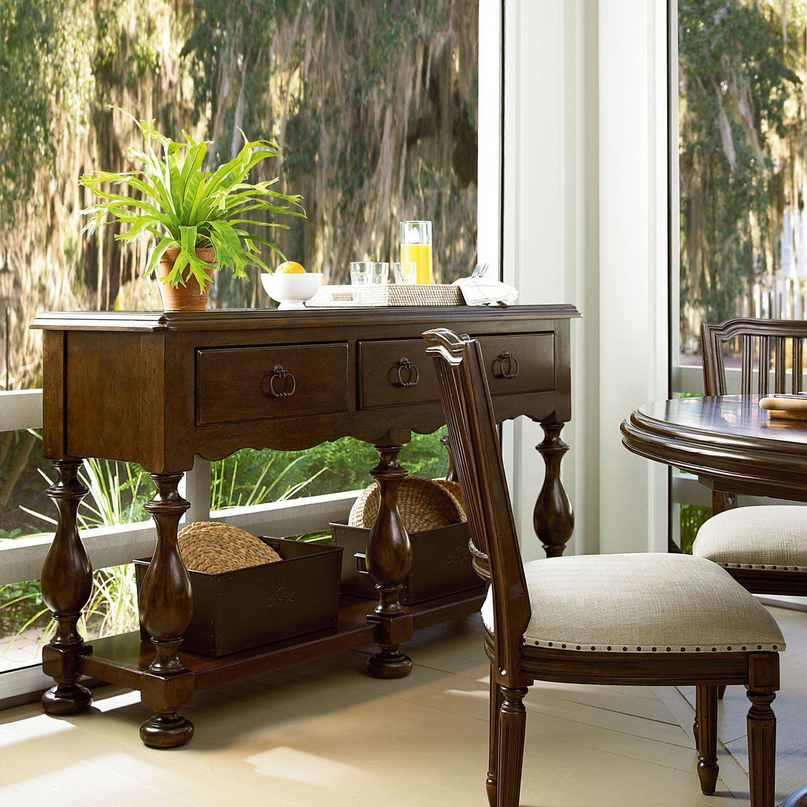 paula deen river house huntboard - river bank | furniture ideas, Esstisch ideennn