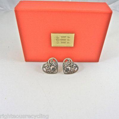 James Avery Heart Earrings! | Designer Love | Pinterest ...