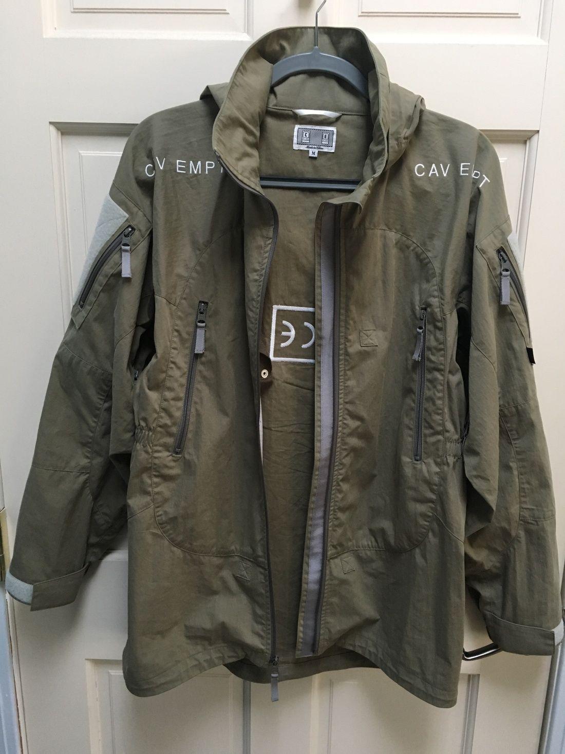 2542ad5b4d3b Cav Empt Mil Grey Liner Jacket Size M  600 - Grailed