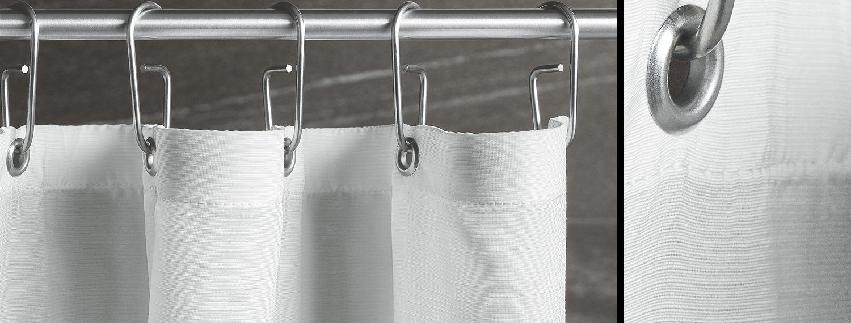 Duschvorhang Haken Und Ringe Duschvorhang Duschvorhangstange
