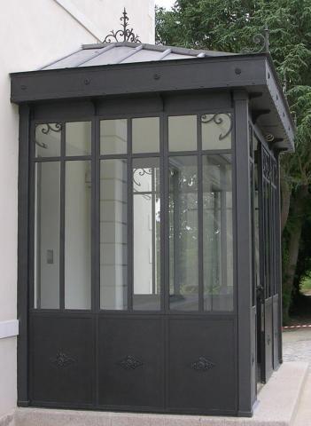 veranda verriere pr sentation de verri re v randa en acier garden pinterest. Black Bedroom Furniture Sets. Home Design Ideas
