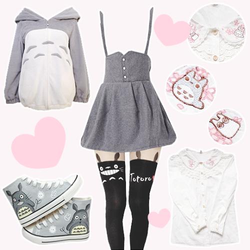 dress anime totoro cute lovely lolita kawaii cardigan blouse shoes leggings  tights jacket Yes Yes Yes Pleez