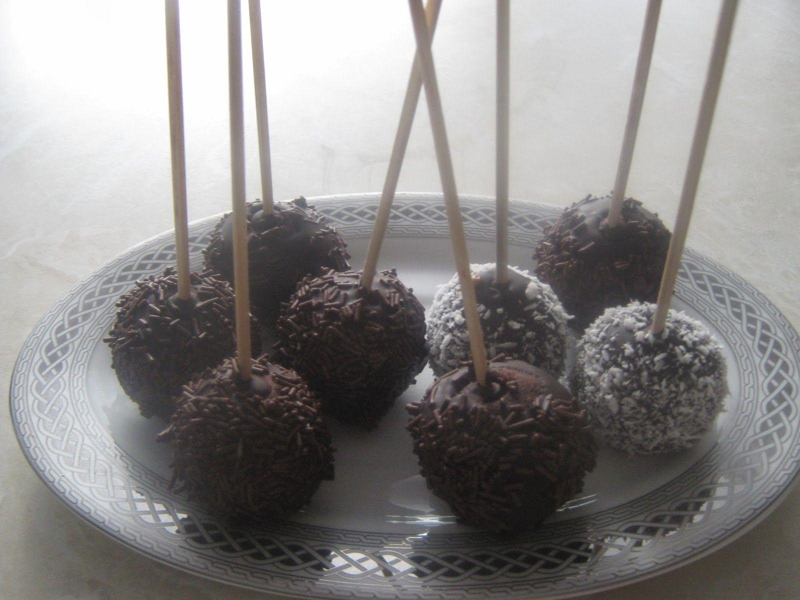 Cake Pops Tarifi Videosu