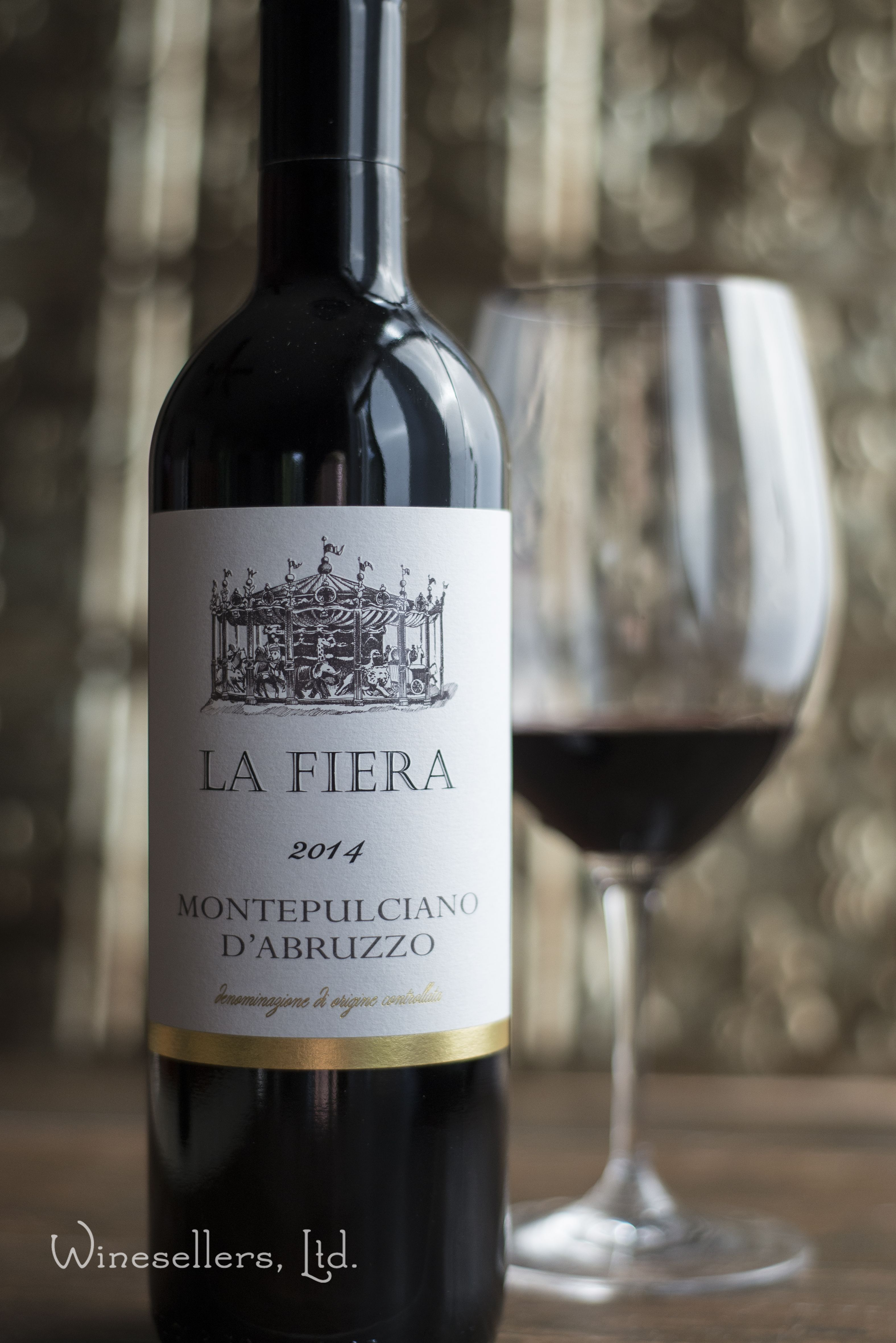 La Fiera Montepulciano d'Abruzzo is a ruby-red color with ...