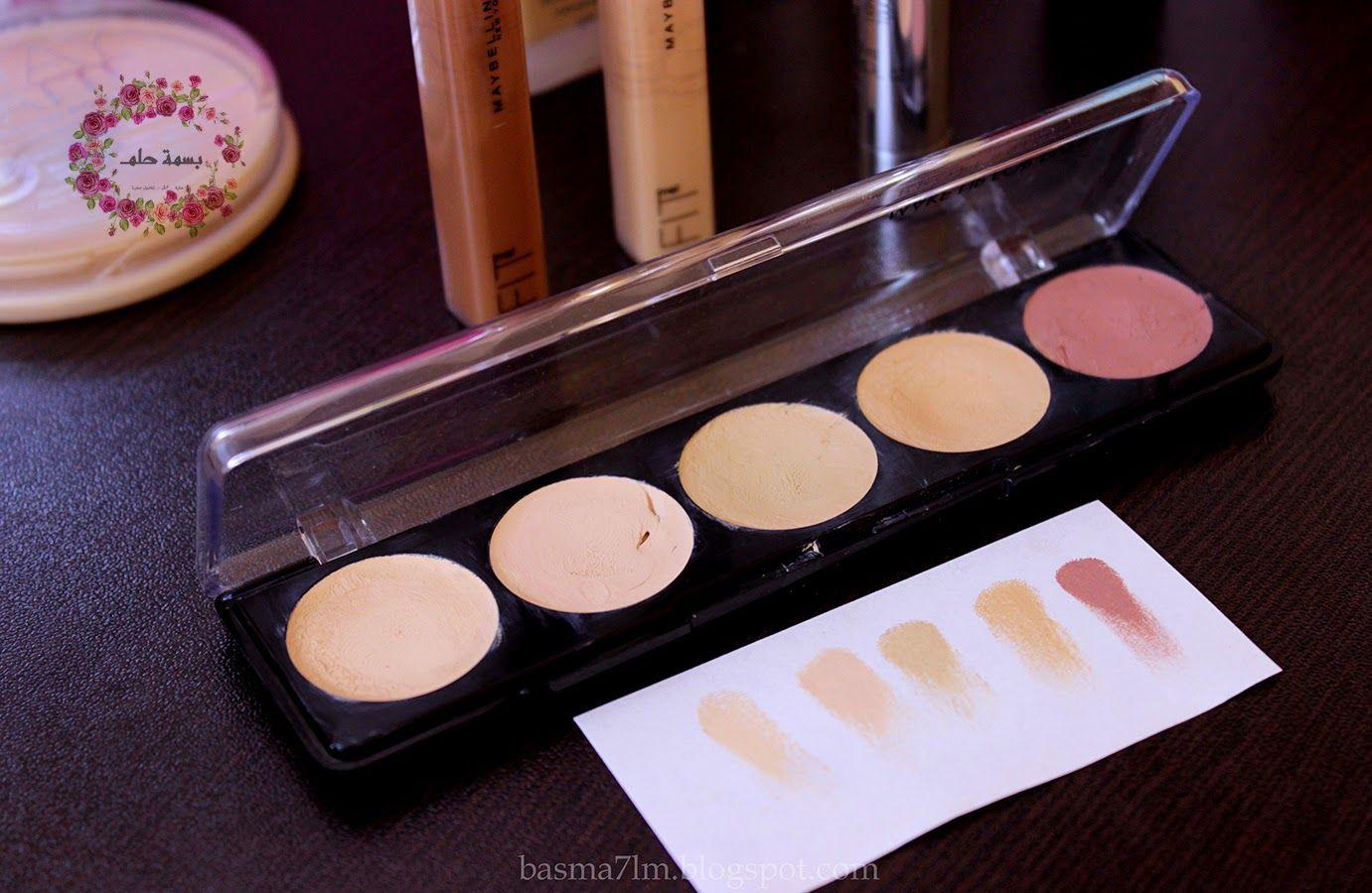 باليت مخفي العيوب الكريمي من ميك اب فورايفر Makeup Forever 5 Camouflage Cream Palette التفاصيل في المدونة Camouflage Cream Makeup Forever Tea Light Candle