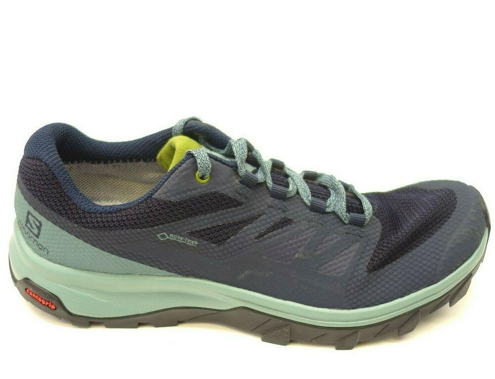 d7b4792c8ba Salomon Sz 7 OUTline GTX Waterproof Athletic Hiking Running Womens ...