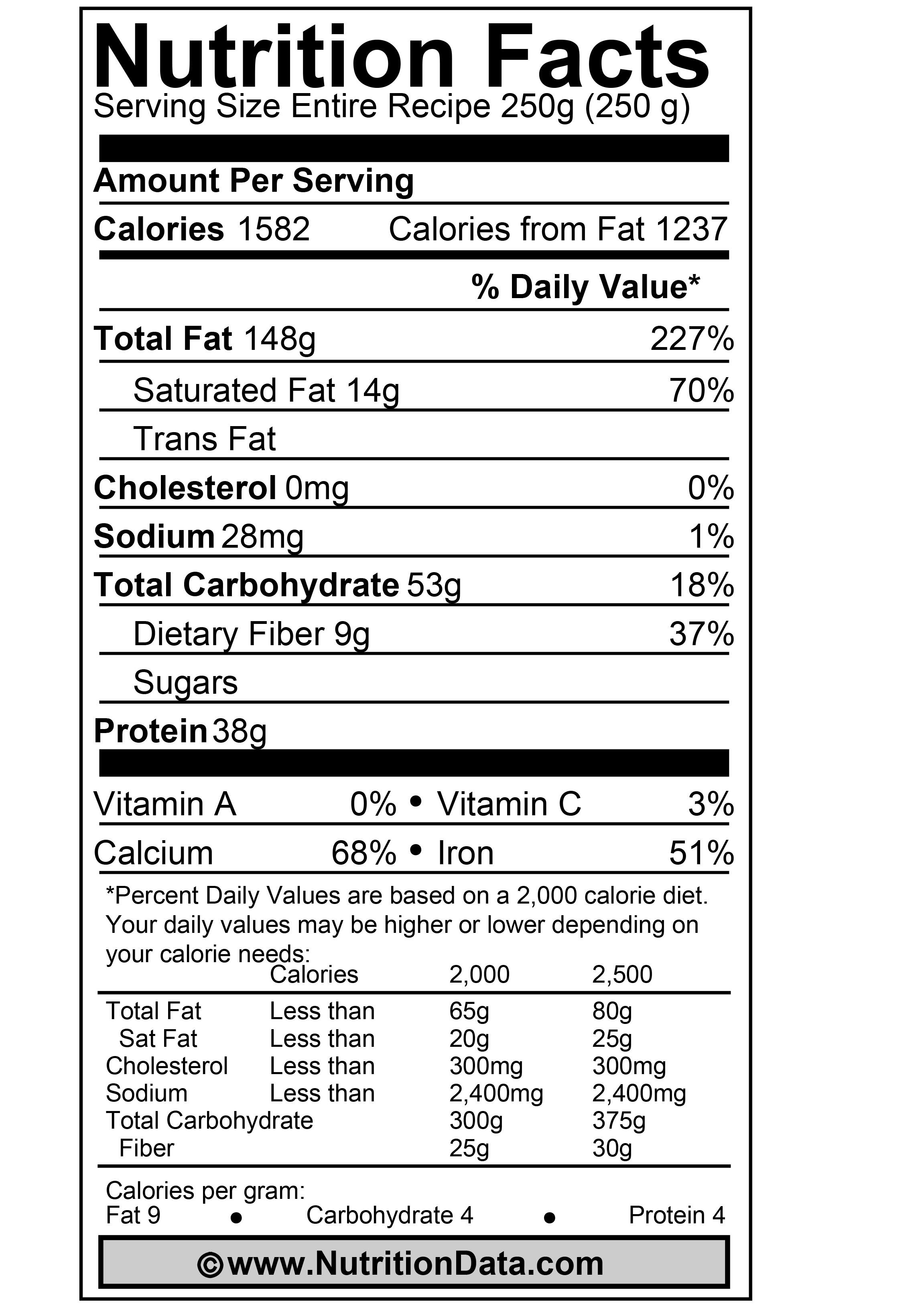 milk nutrition label - google search | for the play | pinterest