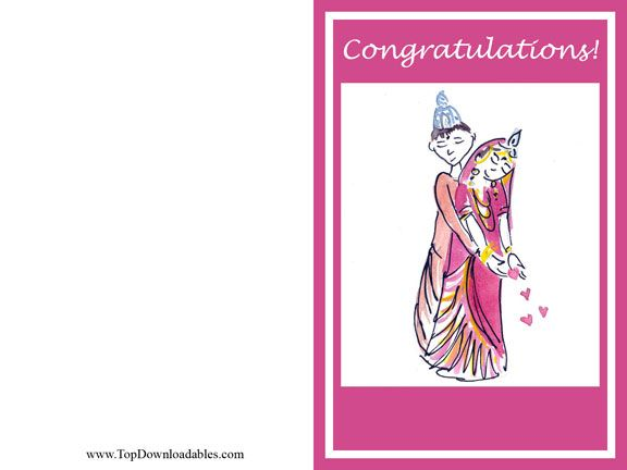 Hindu Wedding Card Template Free Printable And Kits For Theme