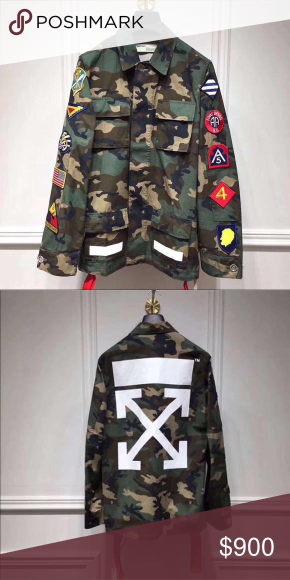 e74f656ee5970 Off White camouflage patch cargo jacket Camo OFF-WHITE camouflage patch  cargo jacket Off-White Jackets & Coats Lightweight & Shirt Jackets