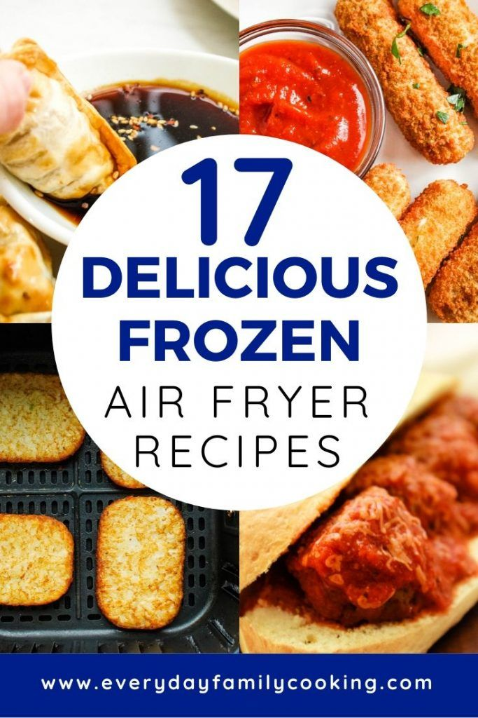 The 17 Best Air Fryer Frozen Food Recipes in 2020 Frozen