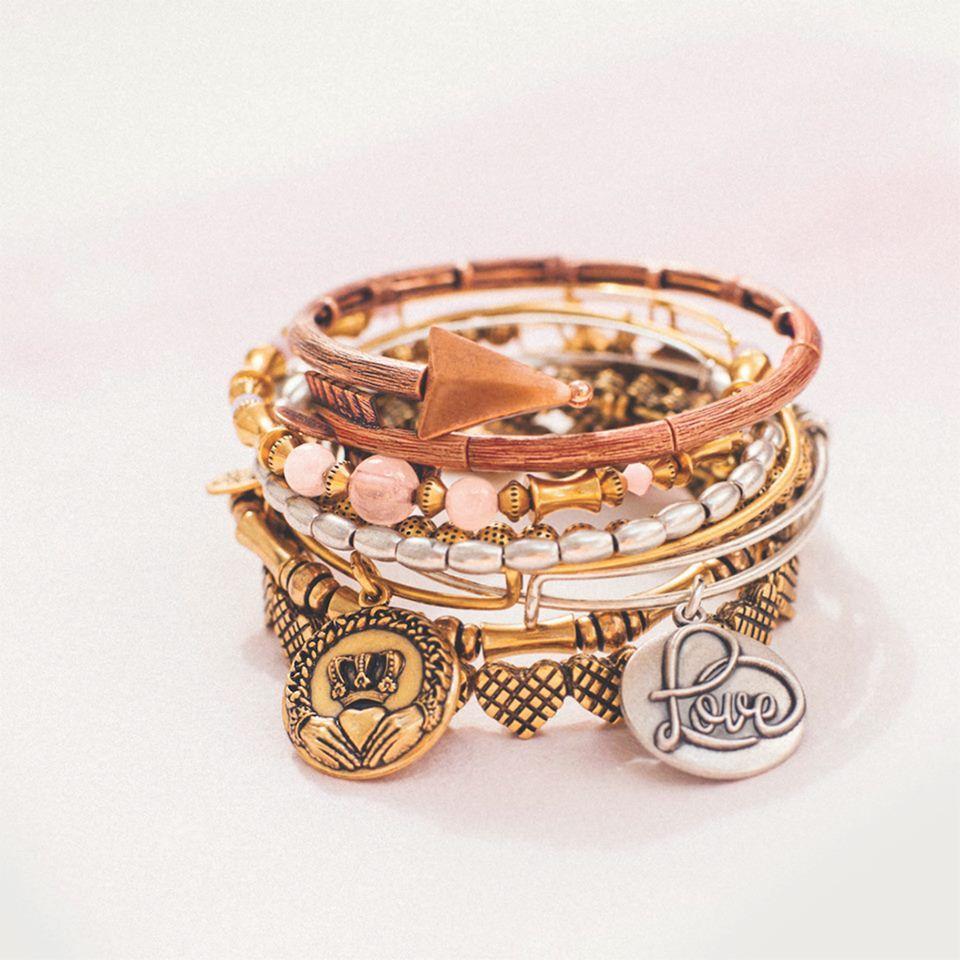 Happy valentine! Alex and Ani Charm bracelet, Alex and