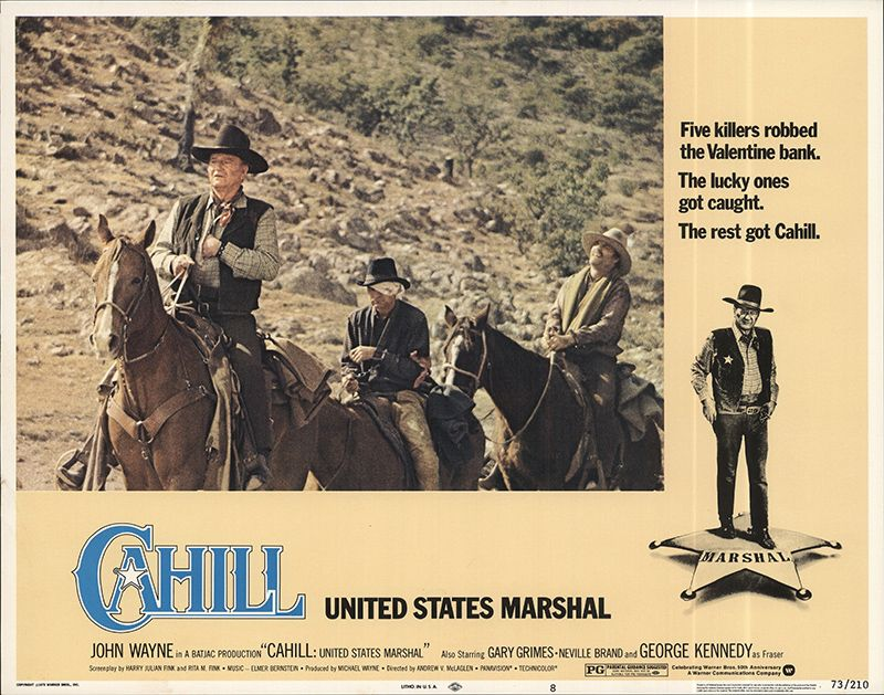 CAHILL UNITED STATES MARSHAL
