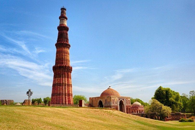 Qutub Minar Islamic Architecture Mystery Of History India