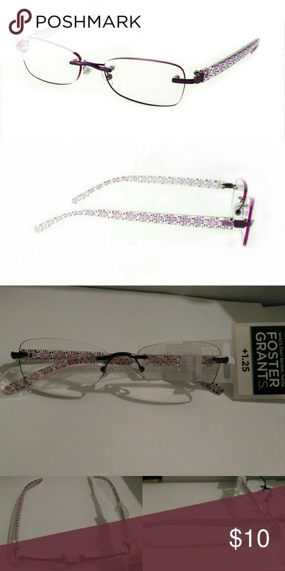 ed94f888dba5 +1.25 Foster Grant Women s Rimless Reading Glasses +1.25 Foster Grant  Women s Reading Glasses Model