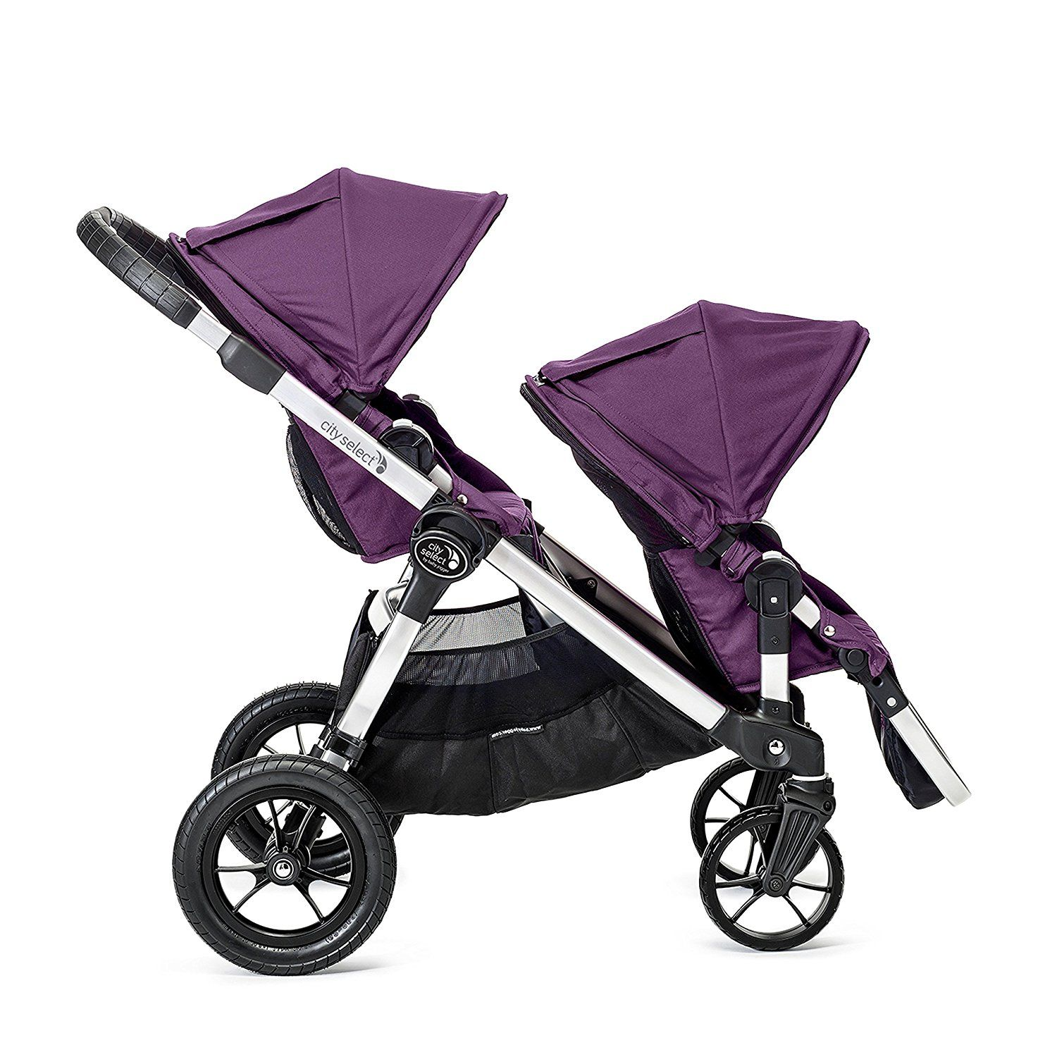 Amazon Com Baby Jogger City Select Stroller In Amethyst Tandem