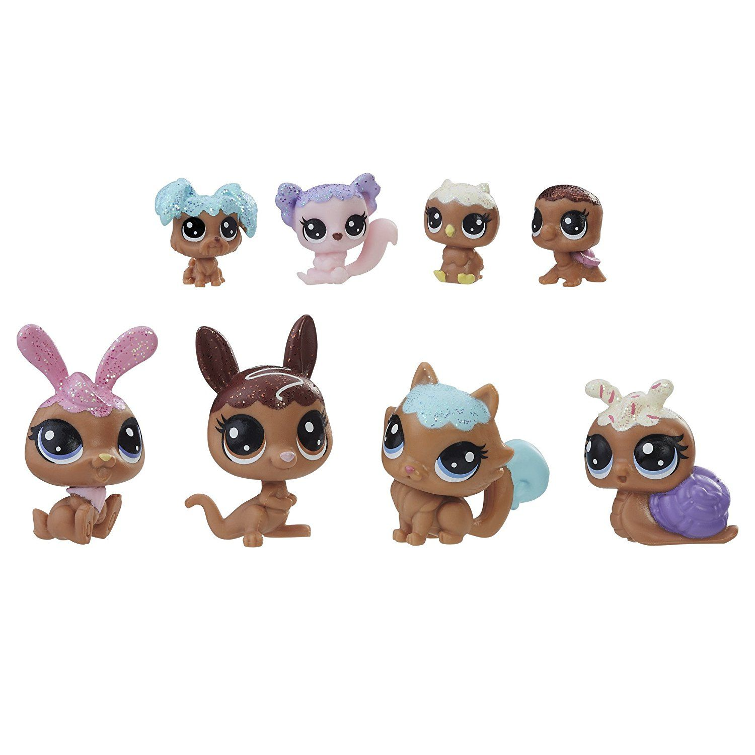 Amazon Com Littlest Pet Shop Frosting Frenzy Friends Toys Games With Images Pet Shop Littlest Pet Shop