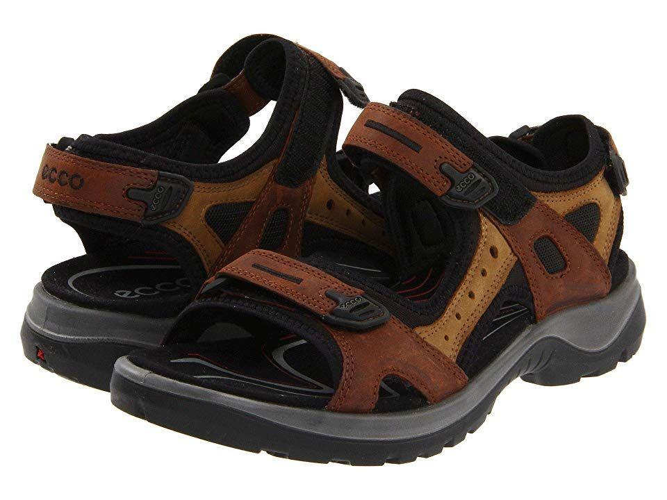 ECCO Sport Yucatan Sandal (Bison/Mineral) Women's Sandals