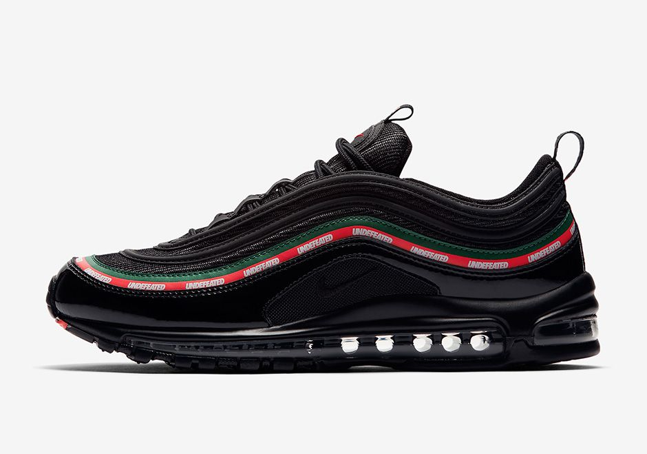 air max 97 blanche undefeated