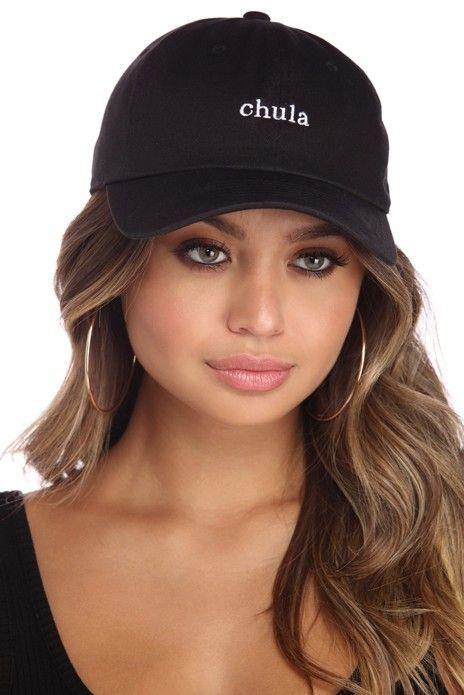 6b0447131 Chula Script Cap in 2019 | Ladies | Baseball hats, Cap, Baseball cap ...