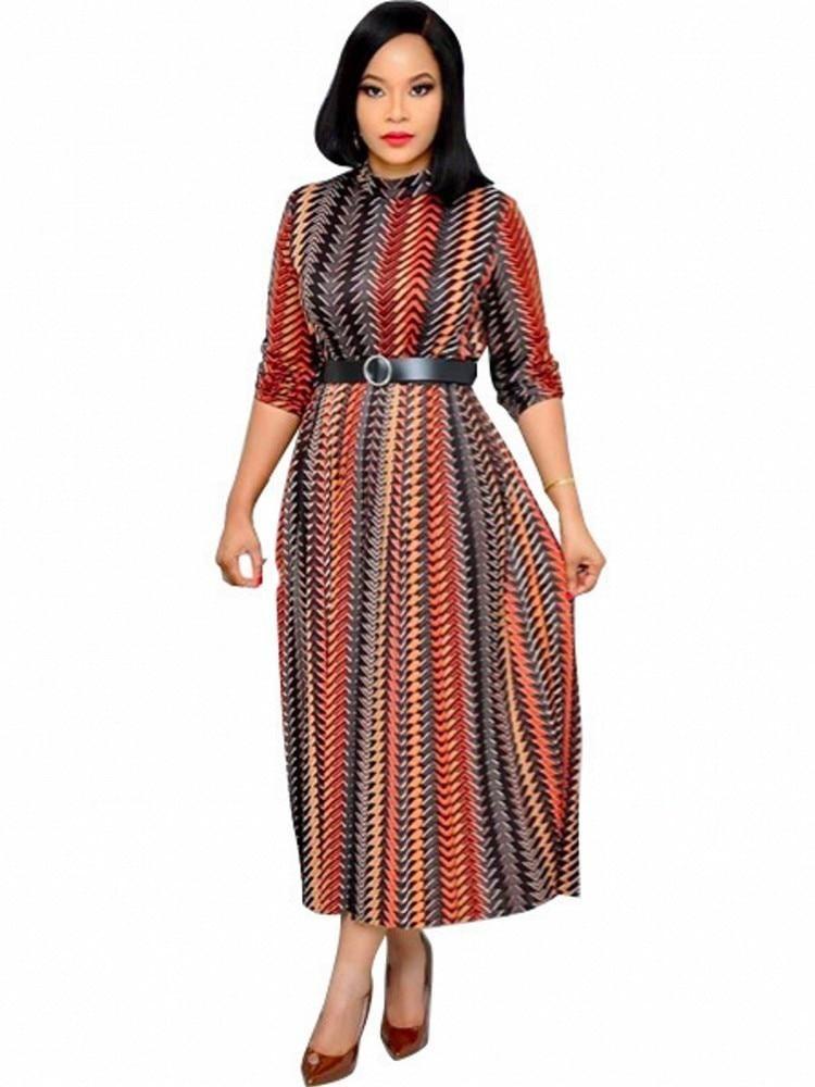 African Dresses For Women Print Dashiki Ladies Clothing Ankara Plus Size