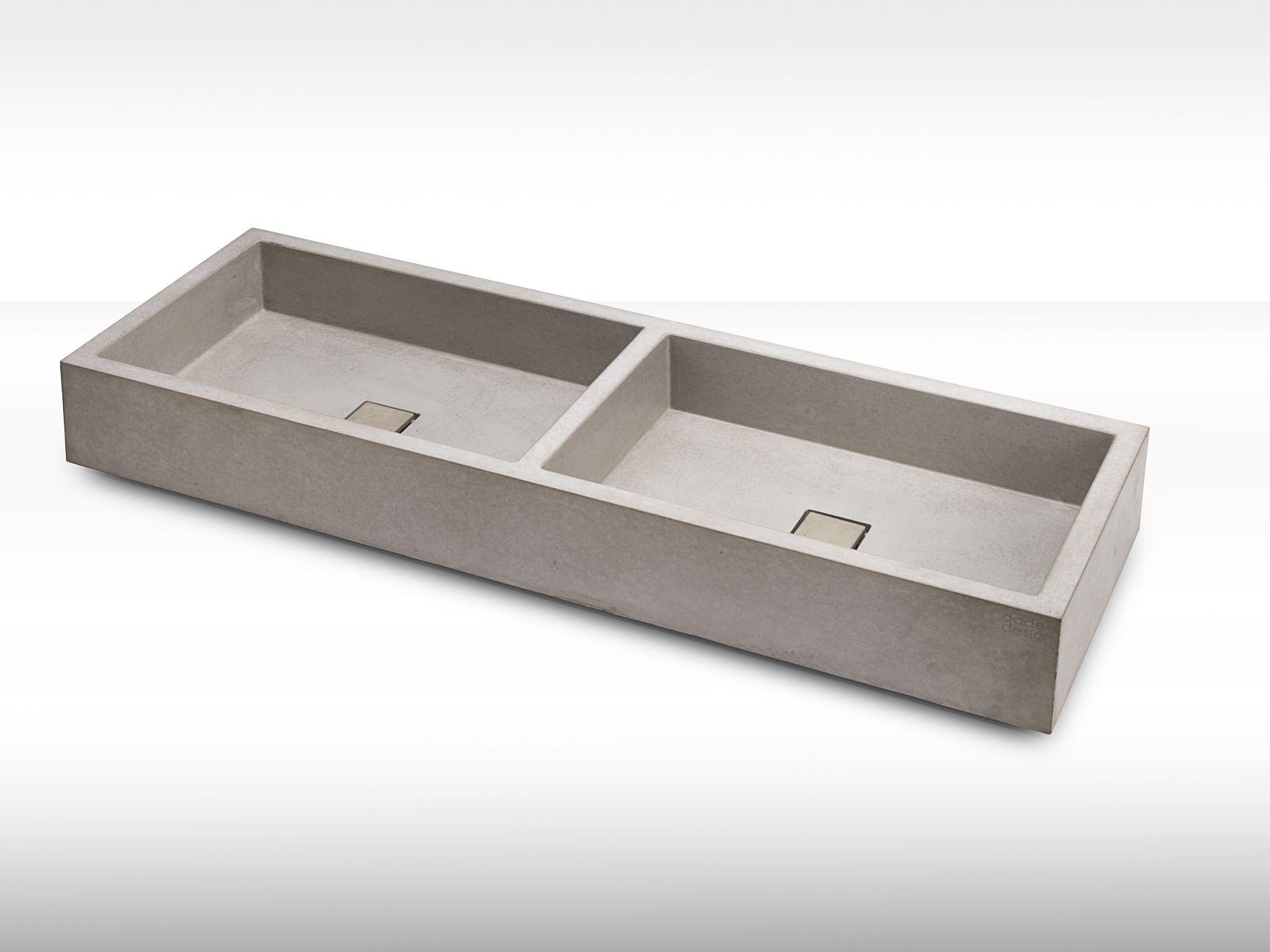 Das Betonwaschbecken Element Besticht Durch Raffiniertes Design Fugenlos Naturgrau Gerade Umlaufenden Abfl In 2020 Betonwaschbecken Waschbecken Waschbecken Design