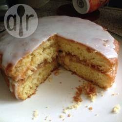 Easy moist lemon sponge cake recipe
