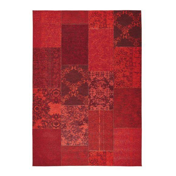 Dieser Läufer von NOVEL besticht durch frisches Design. Die filigranen Muster in markantem Rot setzen einen natürlichen Akzent. Der ca. 80 x 150 cm große Teppich aus einem Mischgewebe aus Baumwolle (30 %), Polyester (34 %) und Acetat (36 %) ist angenehm weich und leicht zu reinigen. Dieser Läufer schafft eine behagliche Atmosphäre!