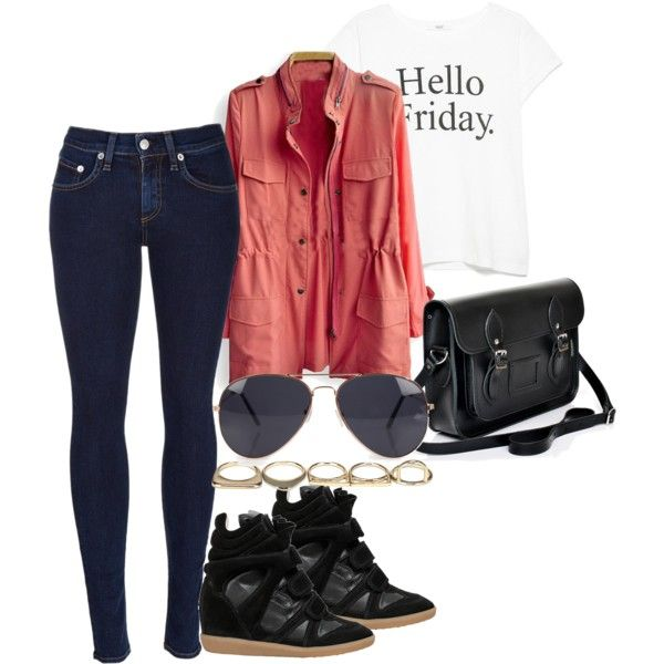 A fashion look from March 2015 featuring MANGO t-shirts, rag & bone jeans and Isabel Marant sneakers. Browse and shop related looks.