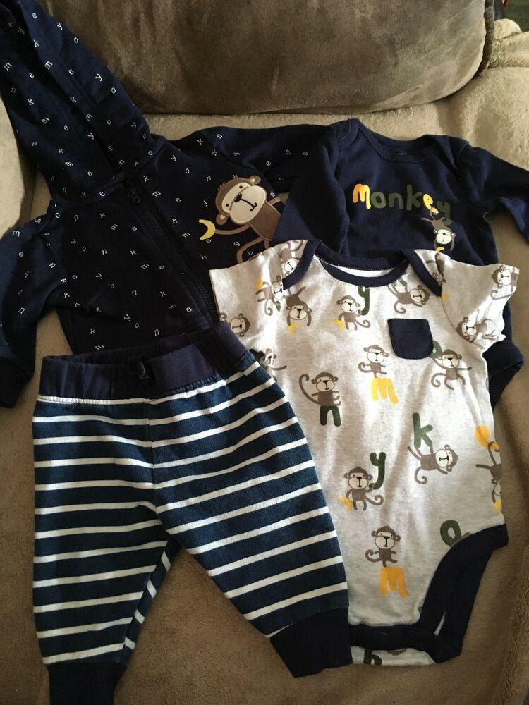bdfff5f52b15 0-3 Month Baby Boy Outfit #fashion #clothing #shoes #accessories  #babytoddlerclothing #boysclothingnewborn5t (ebay link)