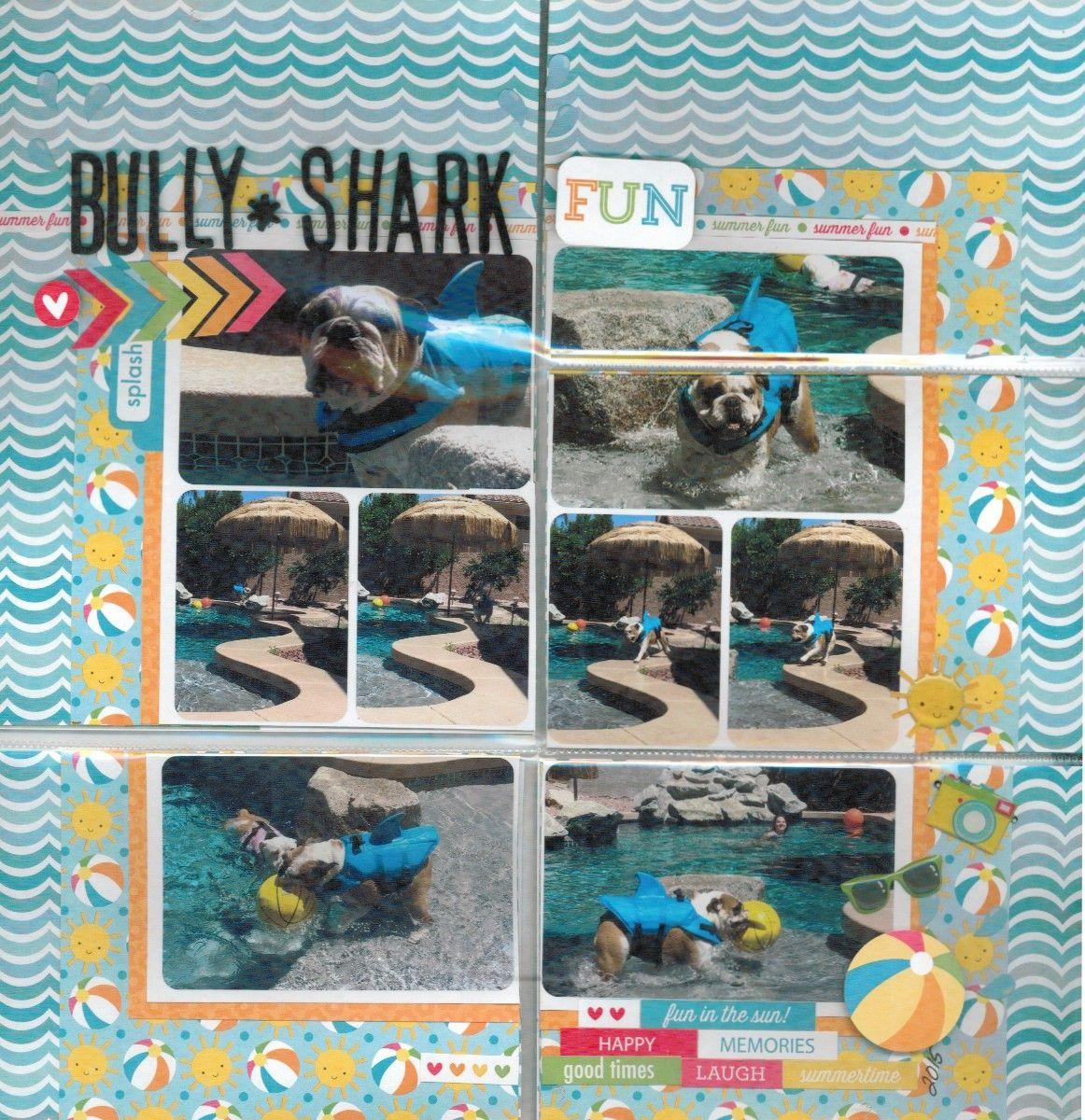 Bully Shark - Doodlebug - Scrapbook.com