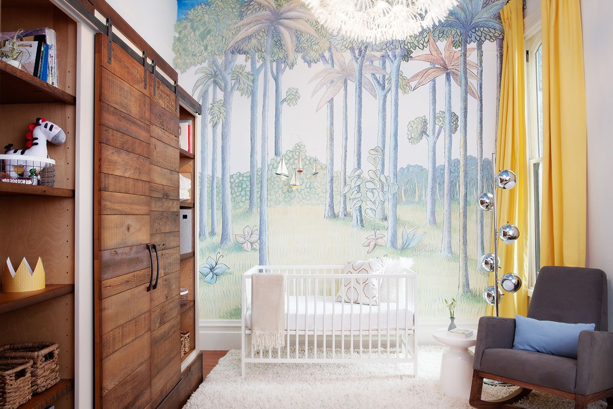Interior Design Fair - Mission II Where the Wild Things Are Nursery with the Monte Design Joya Rocker Photography:Julie Mikos