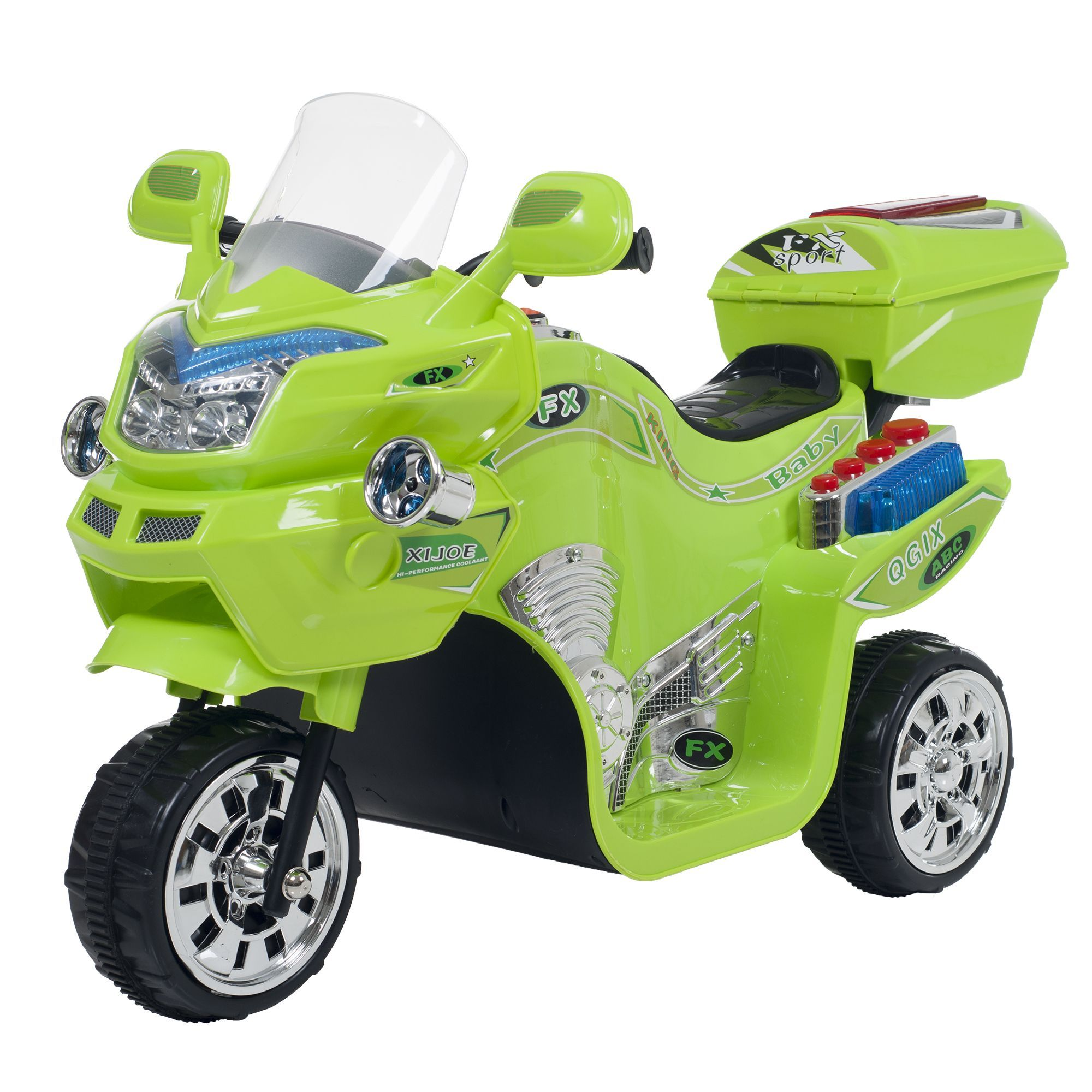 Trademark Lil Rider 3 Wheel Fx Battery Operated Motorcycle