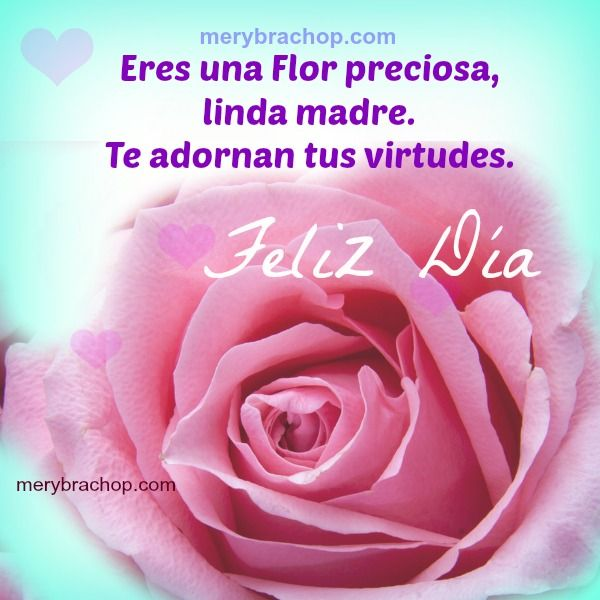 Felicitacion Dia De La Madre Feliz Día De La Madre Frases