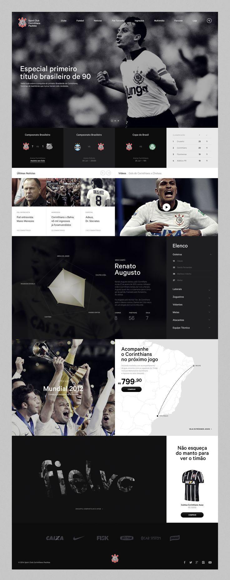 Corinthians - Danilo Campos — Designer & Art Director. If you like UX, design, or design thinking, check out theuxblog.com