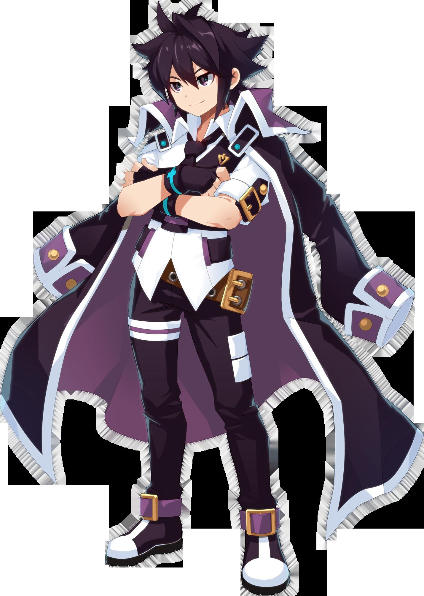 Grand Chase For Kakao Sieghart 01 Png Character Art Anime Guys Character Design Inspiration