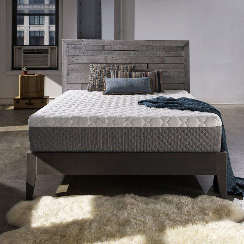 Sleep Innovations Taylor 12 In Gel Memory Foam Mattress