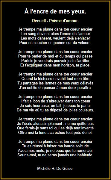 Poèmes Damour En Images Citation Amour Heureux Texte