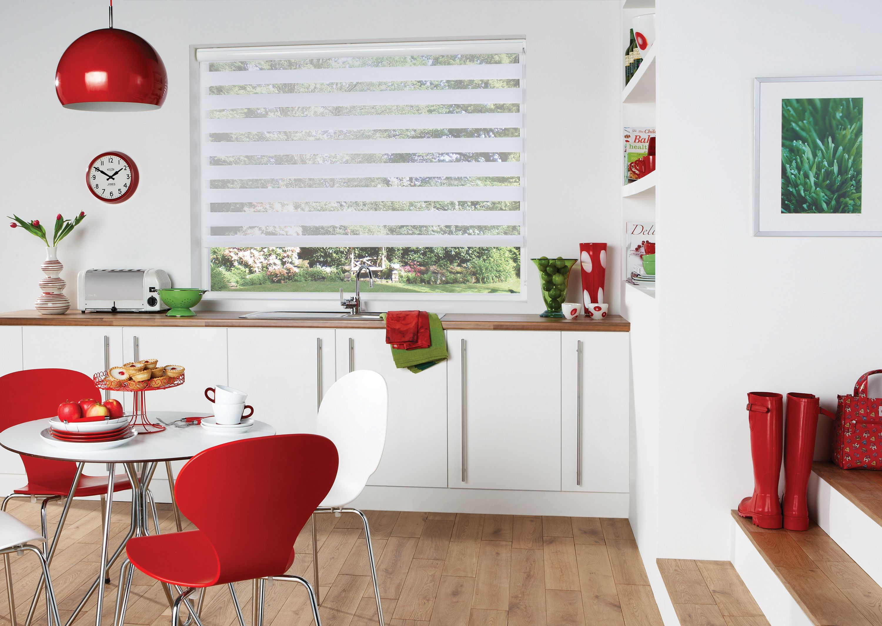 Red Roller Blinds Kitchen 17 Best Images About Rollo Impressionen On Pinterest Hunter