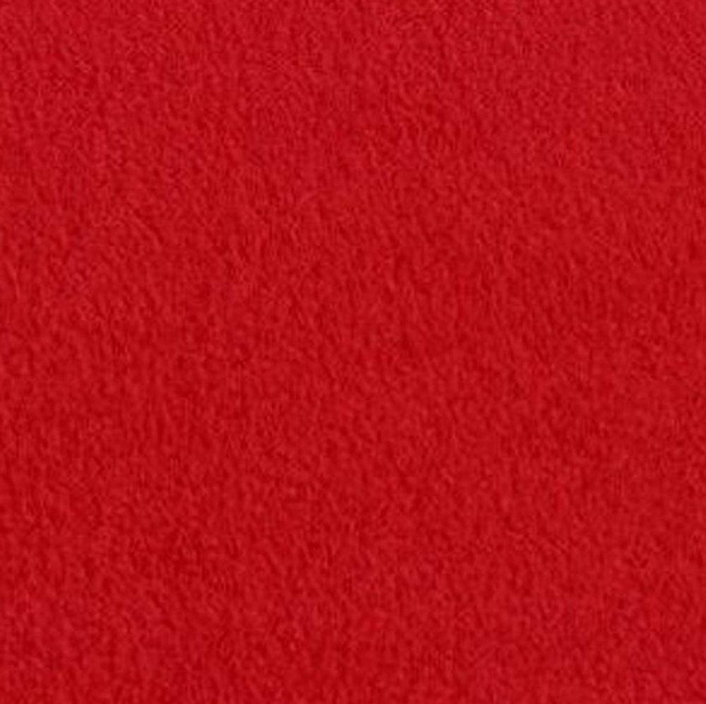 Solid fleece fabric red fleece fabric anti pill fleece fabric by the
