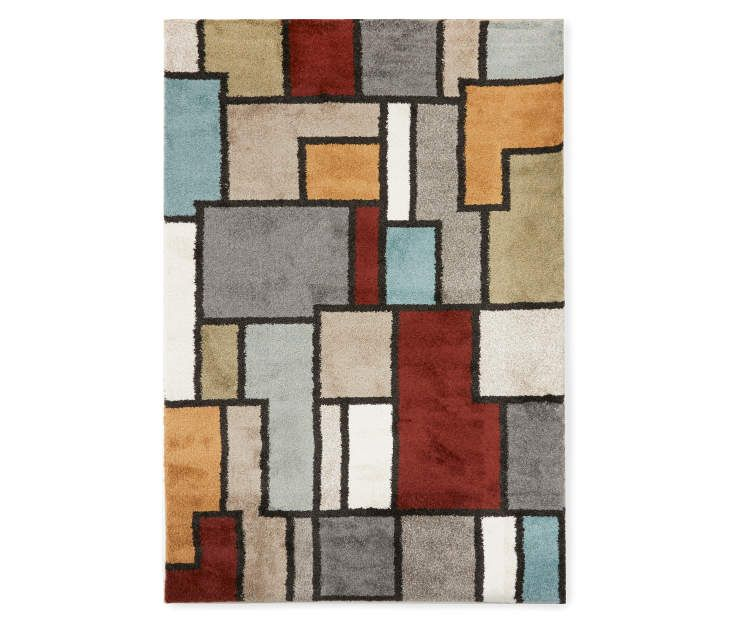 Living Colors Mesa Uxbridge Area Rug 6 7 X 9 6 At Big Lots With Images Area Rugs Rugs Geometric Area Rug