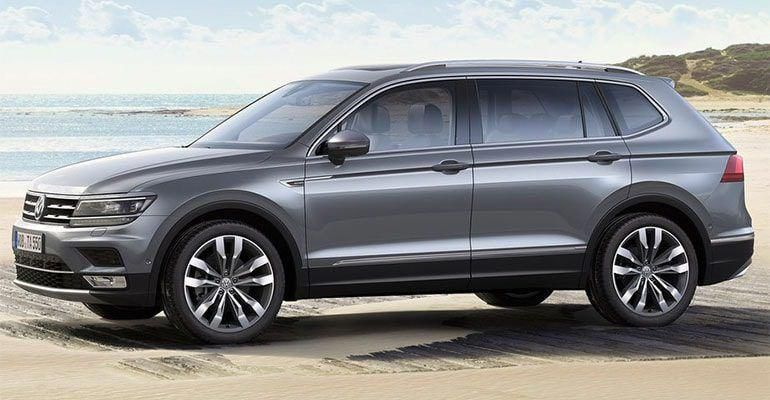Volkswagen Tiguan Allspace Launched Priced At Rs 33 12 Lakhs In 2020 With Images Reverse Parking Tire Pressure Monitoring System Volkswagen