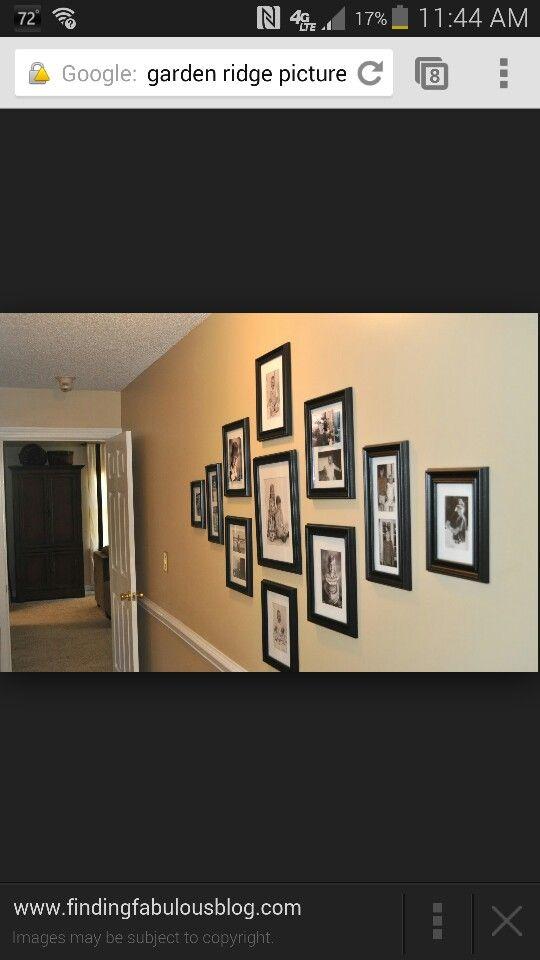 Cute gallery idea | Home Sweet Home | Pinterest