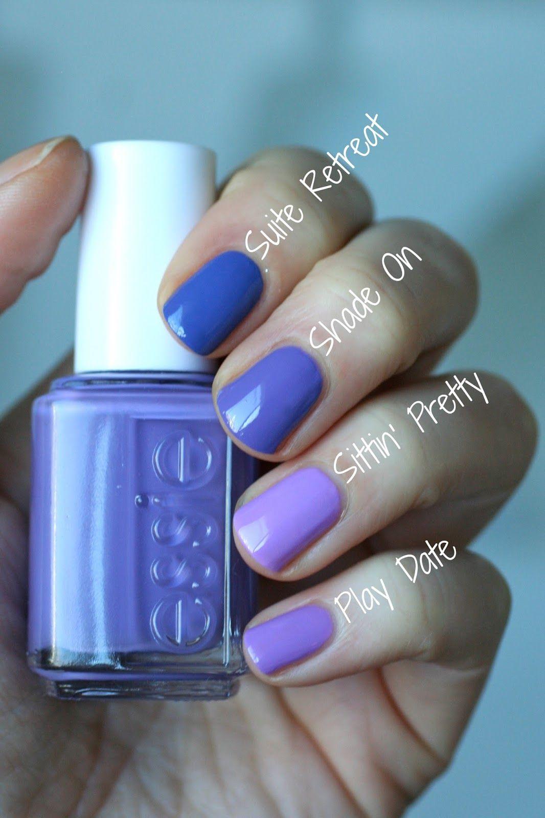 Essie Spring 2016 - Lounge Lover Comparisons   Essie Envy   Essie ...